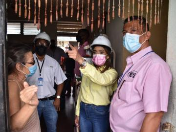Inspeccionan inmuebles en mal estado en El Chorrillo y Calidonia