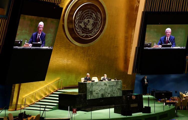 """La ONU exige a los líderes unidad ante el virus: """"Es nuestro propio 1945"""""""