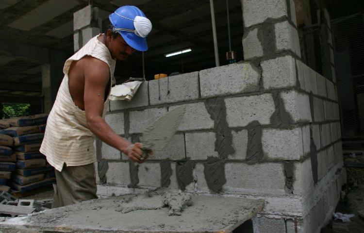 Construcción aún no dice sus perdidas