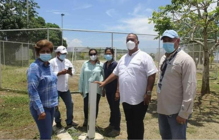 Verifican planta de tratamiento de aguas servidas