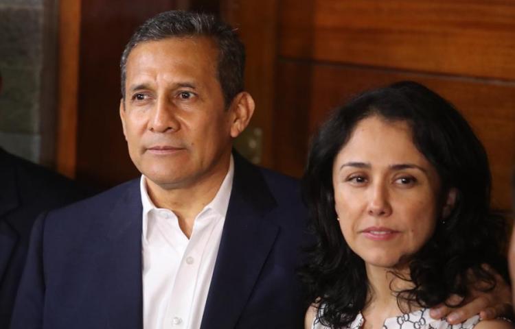 Corte de Perú dicta prisión domiciliaria a esposa de Humala en caso Odebrecht