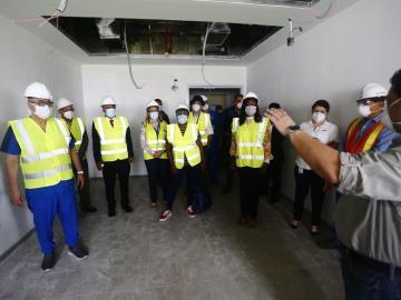 Plantean crear unidad de cuidados intensivos en la Ciudad de la Salud