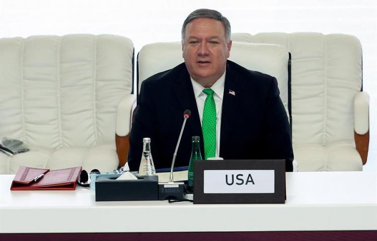 Pompeo habla con el presidente Cortizo de la pandemia y de seguridad