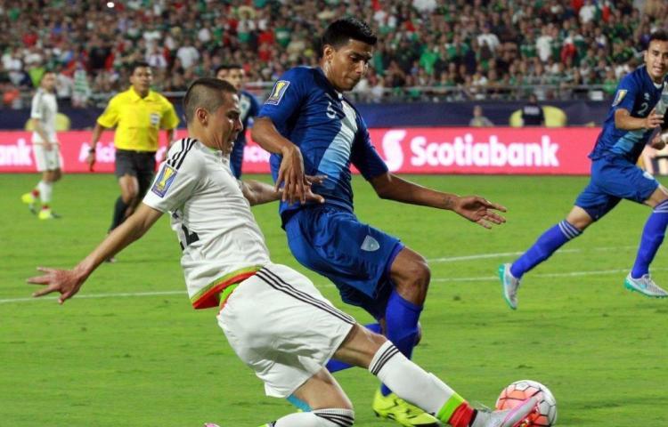 México se enfrentará a Guatemala