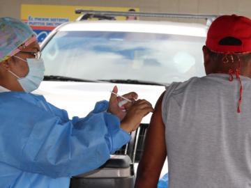 Vacunaron a más de 83 mil personas contra la influenza en San Miguelito