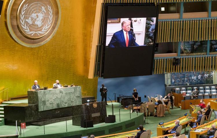 Bronca entre EE.UU., China y Rusia en la ONU en torno a la pandemia