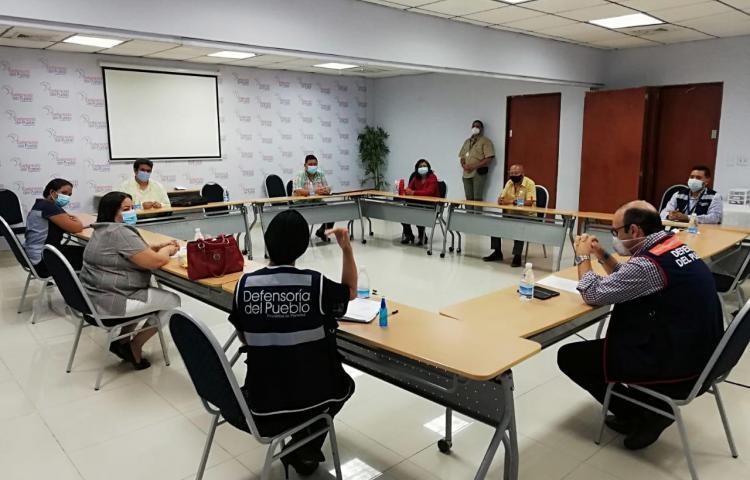 Exfuncionarios del Minseg piden a la Defensoría mediar en pago de prestaciones adeudadas