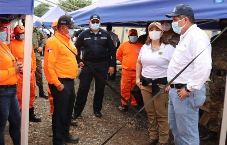Sinaproc ofrece asistencia humanitaria en albergue de San Vicente