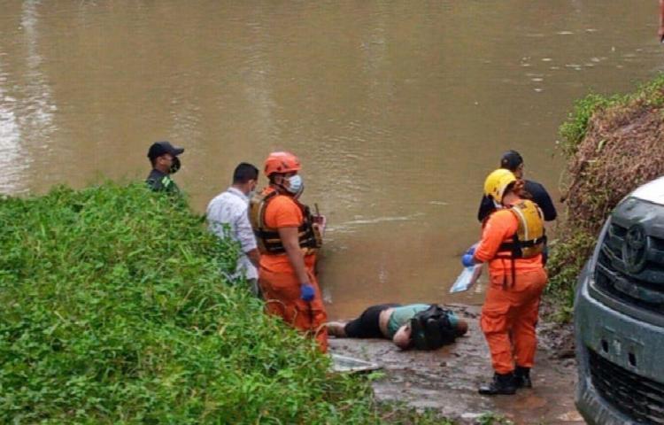 Encuentran cadáver en una empalizada del río Chiriquí