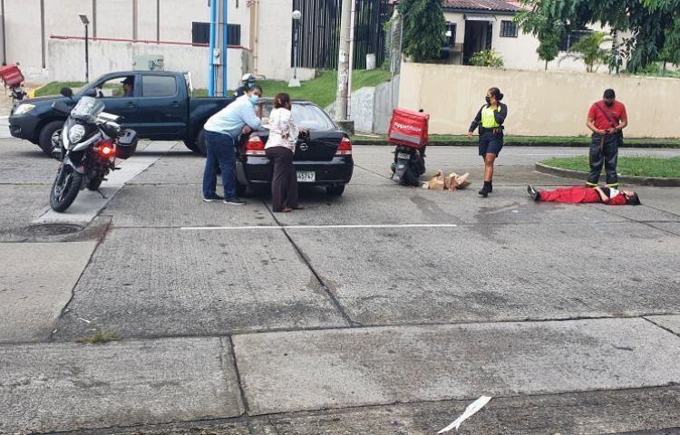 Se registra accidente en Villa Lucre