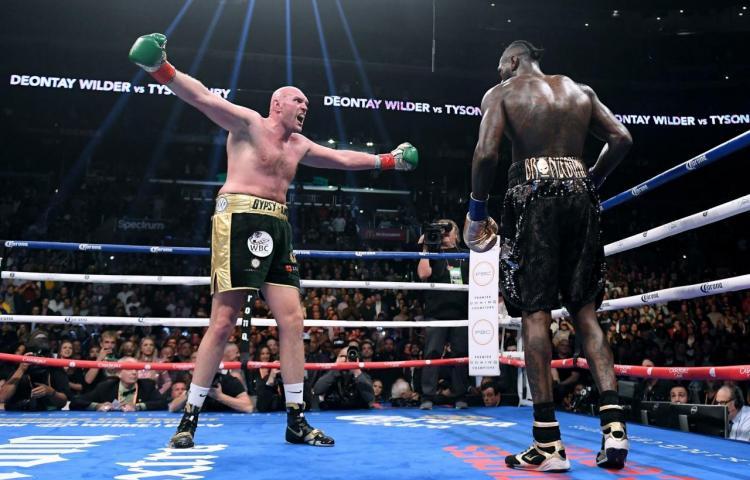 Cambian fecha de la tercera pelea entre Fury y Wilder
