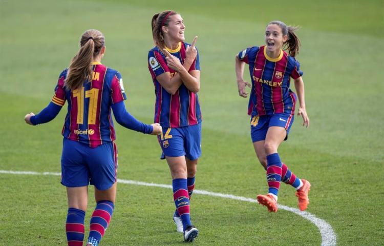 Barcelona venció al Real Madrid en el primer clásico femenino