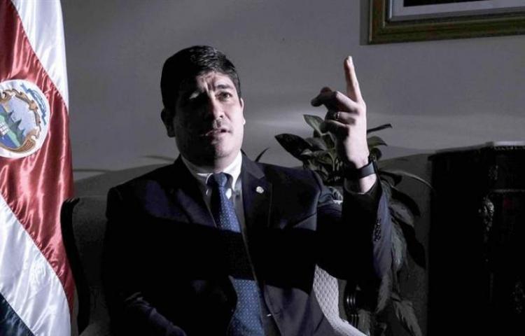 Alvarado desiste de propuesta al FMI y llama a diálogo nacional en Costa Rica