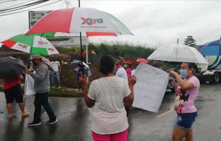 Residentes de Ciudad Futuro se oponen a proyecto habitacional