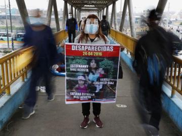 Cada 90 minutos una mujer desaparece en Perú