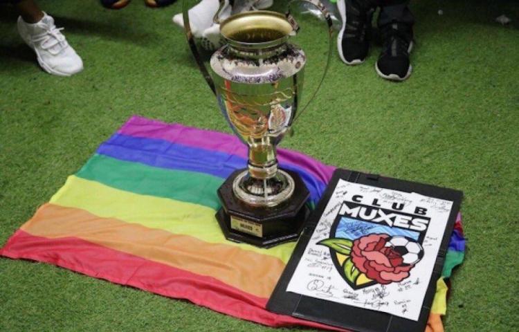 Club Muxes, equipo que representa a la comunidad LGTIQ+ en el fútbol mexicano