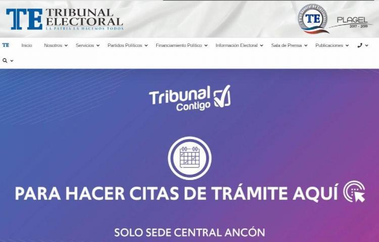 Habilitan botón de pago para cancelar trámites en el Tribunal Electoral