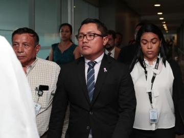 Audiencia del diputado Arias se reanudará el 14 de octubre