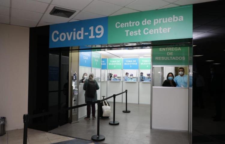 Se detectó pasajero con covid-19 en el Aeropuerto Internacional de Tocumen
