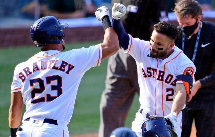 Astros y Dodgers cobran vida