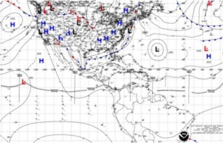 Sinaproc informó sobre incursión de onda tropical N°42 sobre Panamá