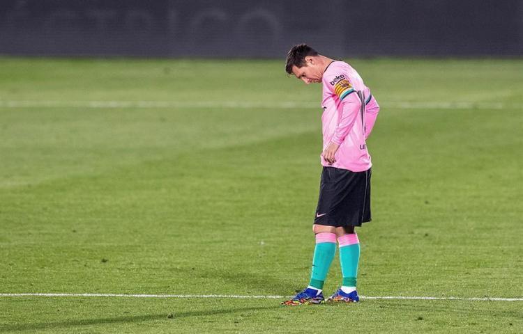 El Barcelona se estrella contra la telaraña táctica de Bordalás