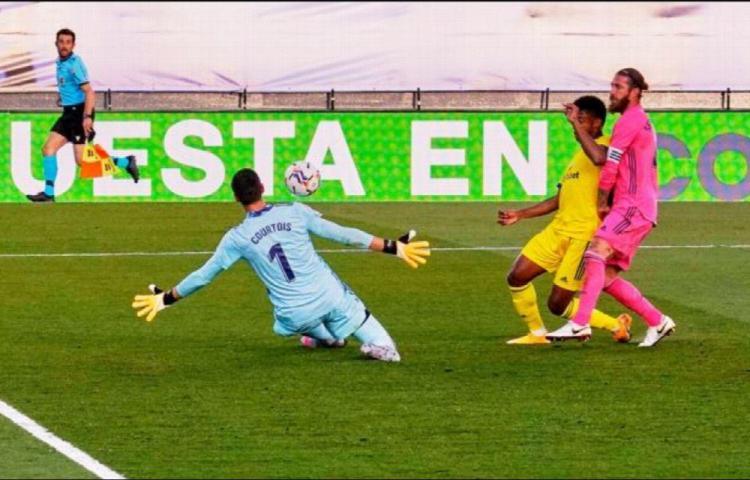 Cadiz golpea al Real Madrid