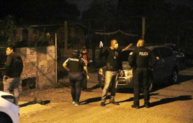 Se tiraron bala desde sus casas en Torrijos Carter, hay dos heridos