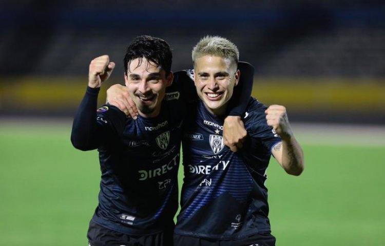 Independiente del Valle le pegó a la Liga de Quito en Ecuador