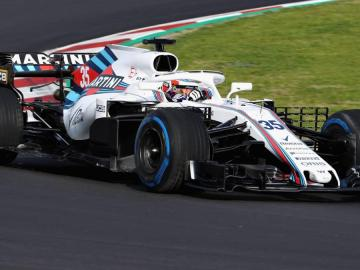 Williams probará mejoras aerodinámicas en Portugal