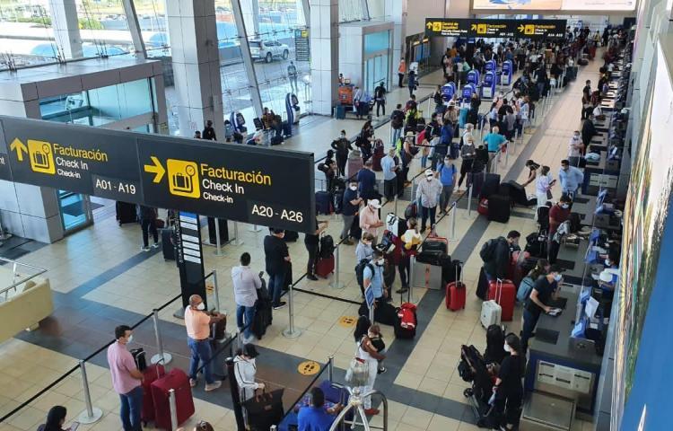 Aeropuerto Internacional de Tocumen movilizó54,041 pasajeros en 8 días