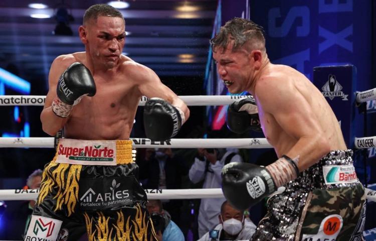 El 'Gallo' Estrada vence a Cuadras en 10 asaltos