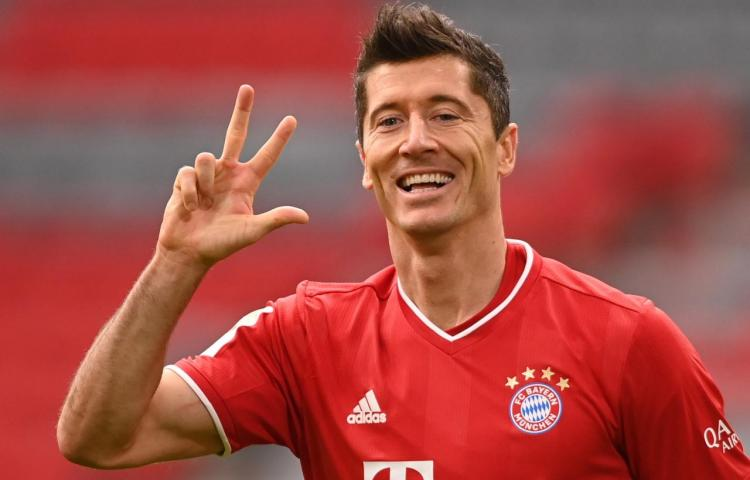 Lewandowski lidera goleada del Bayern