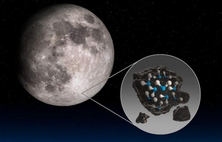 Científicos publican informe que confirma que en la Luna hay agua fría