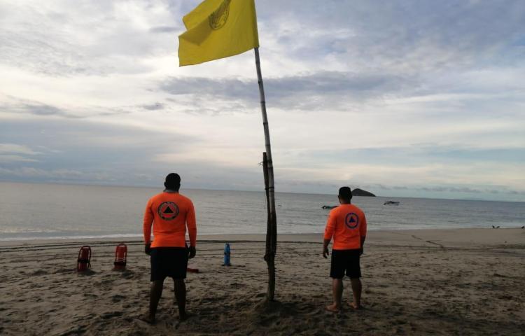 Playas de Santa Clara y Farallón seguirán vigiladas tras la llegada de bañistas