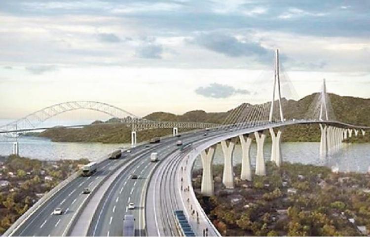Gobierno saca del presupuesto 2021 el cuarto puentesobre el Canal de Panamá