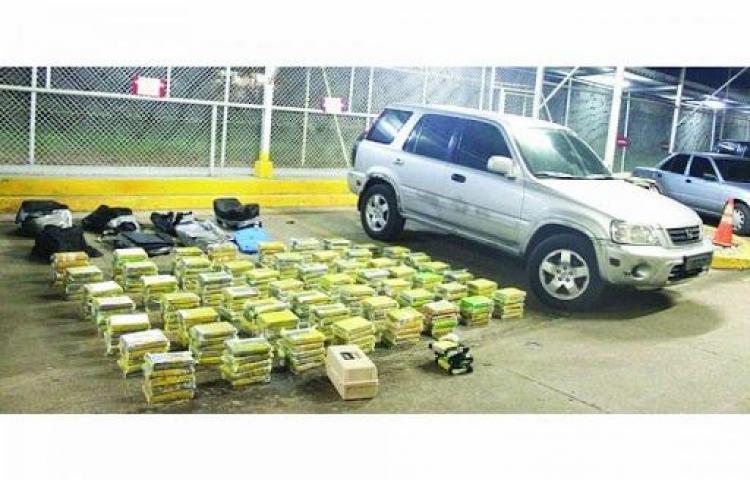 Incautan 9 toneladas de cocaína en Colombia, Panamá y República Dominicana