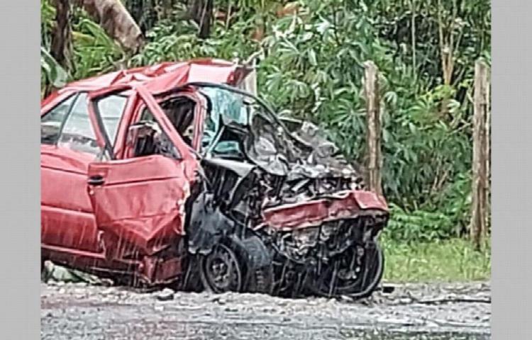 Murieron juntos en la carretera en Chiriquí