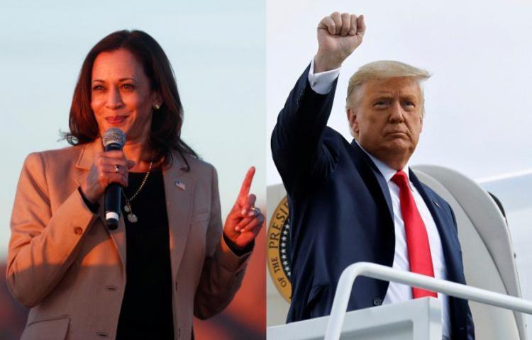 Harris y Trump calientan la campaña en Florida en último fin de semana