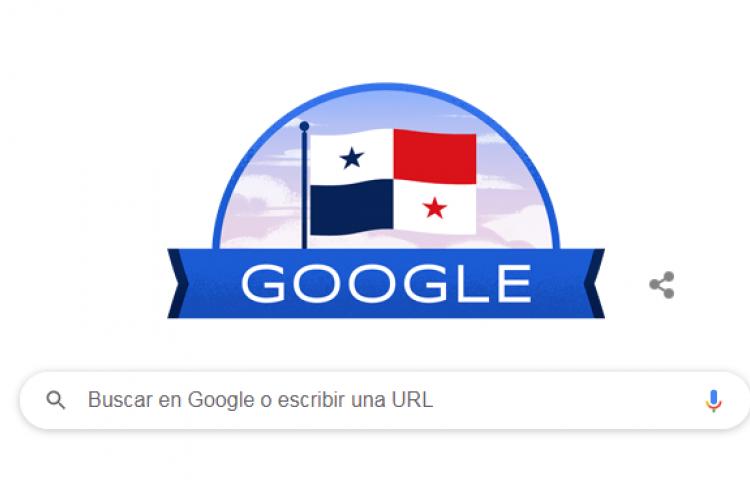'Doodle' dedicado a los 117 años de vida republicanaen Panamá