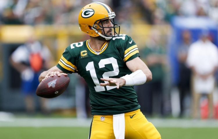 Aaron Rodgers decide triunfo de Packers