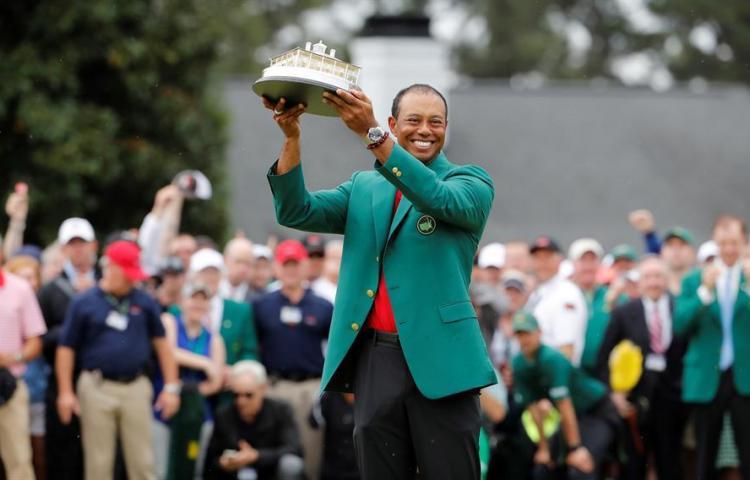 Woods, Johnson, Rahm y DeChambeau encabezan la lista del Masters 2020