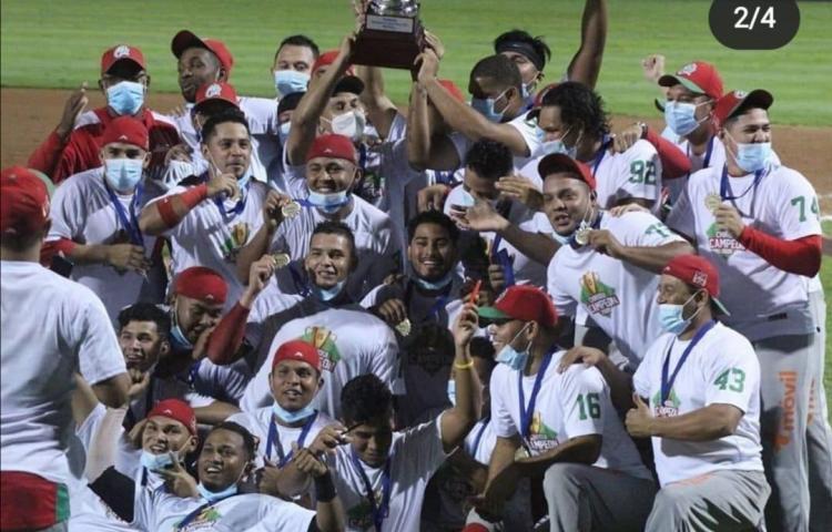 Chiriquí, campeón del béisbol mayor