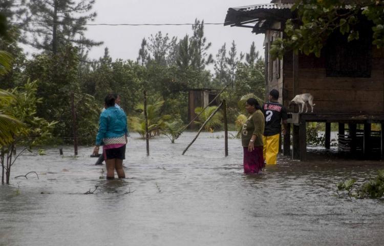 La Cruz Roja advierte de la crisis de agua potable en Nicaragua tras el paso de Eta