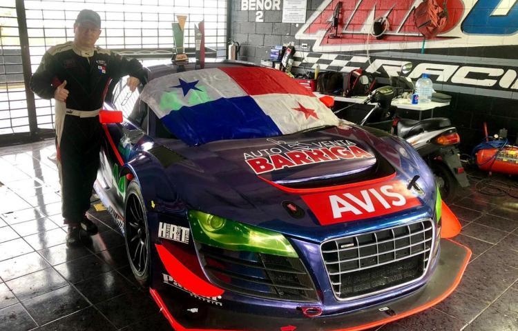 Panameño Betesh, pisó fuerte en el GT Challenge de las Américas
