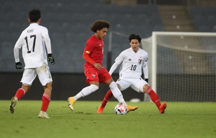 Panamá pierde por la mínima ante Japón en partido amistoso