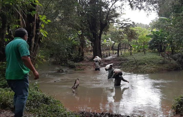 Un muerto y un desaparecido en Panamá tras el paso de Iota