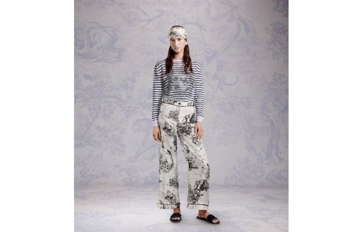 Dior presenta su primera colección de ropa para estar en casa