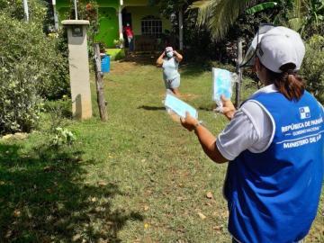 Panamá registra1,256 casos positivos de covid-19