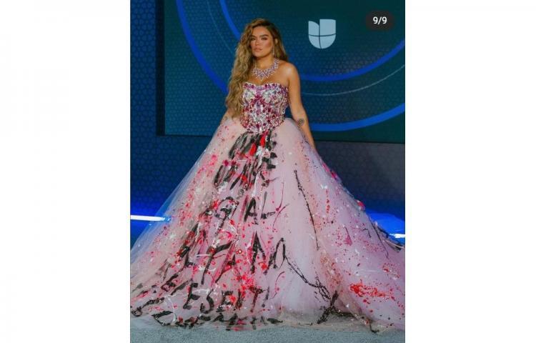 Los mejores y peores vestidos de losLatin Grammy 2020